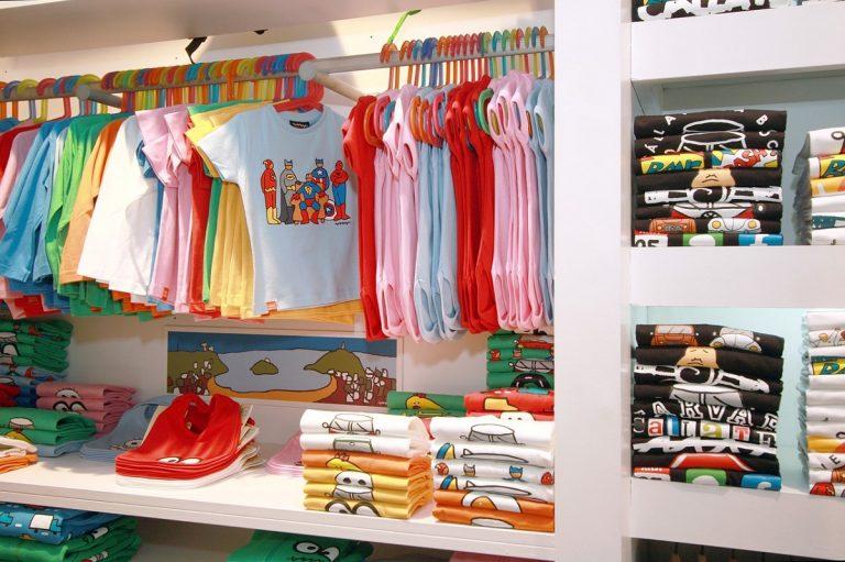 Organizar un armario infantil